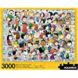 AQUARIUS Peanuts Cast Puzzle (3000 Piece Jigsaw Puzzle) - Officially Licensed Peanuts Merchandise & Collectibles - Glare Free