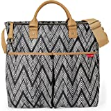 Skip Hop Messenger Diaper Bag with Matching Changing Pad, Duo Signature, Zig Zag Zebra