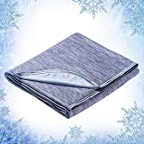Elegear Revolutionary Cooling Blanket Absorbs Heat to Keep Adults, Children, Babies Cool on Warm Nights, Japanese Q-Max 0.4 A
