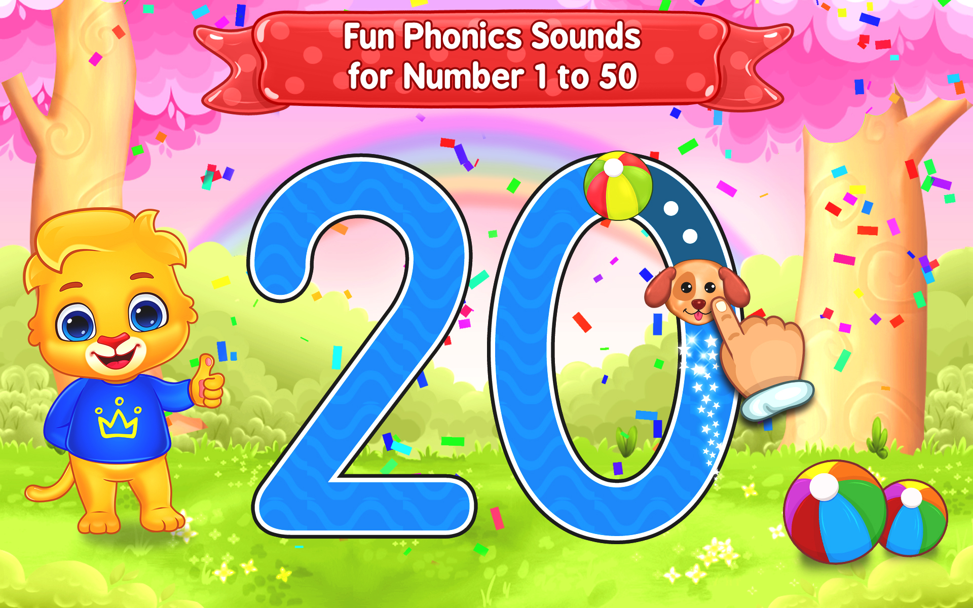 123 Numbers - Count and Tracing 20