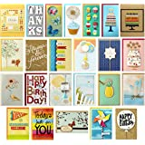 Hallmark All Occasion Handmade Boxed Set of Assorted Greeting Cards with Card Organizer (Pack of 24)—Birthday, Baby, Wedding,