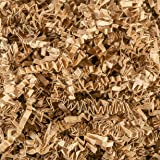 Crinkle Cut Paper Shred Filler (1 LB) for Gift Wrapping & Basket Filling - Kraft   MagicWater Supply