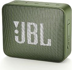 JBL GO2 Bluetoothスピーカー IPX7防水/ポータブル/パッシブラジエーター搭載 グリーン JBLGO2GRN 【国内正規品/メーカー1年保証付き】