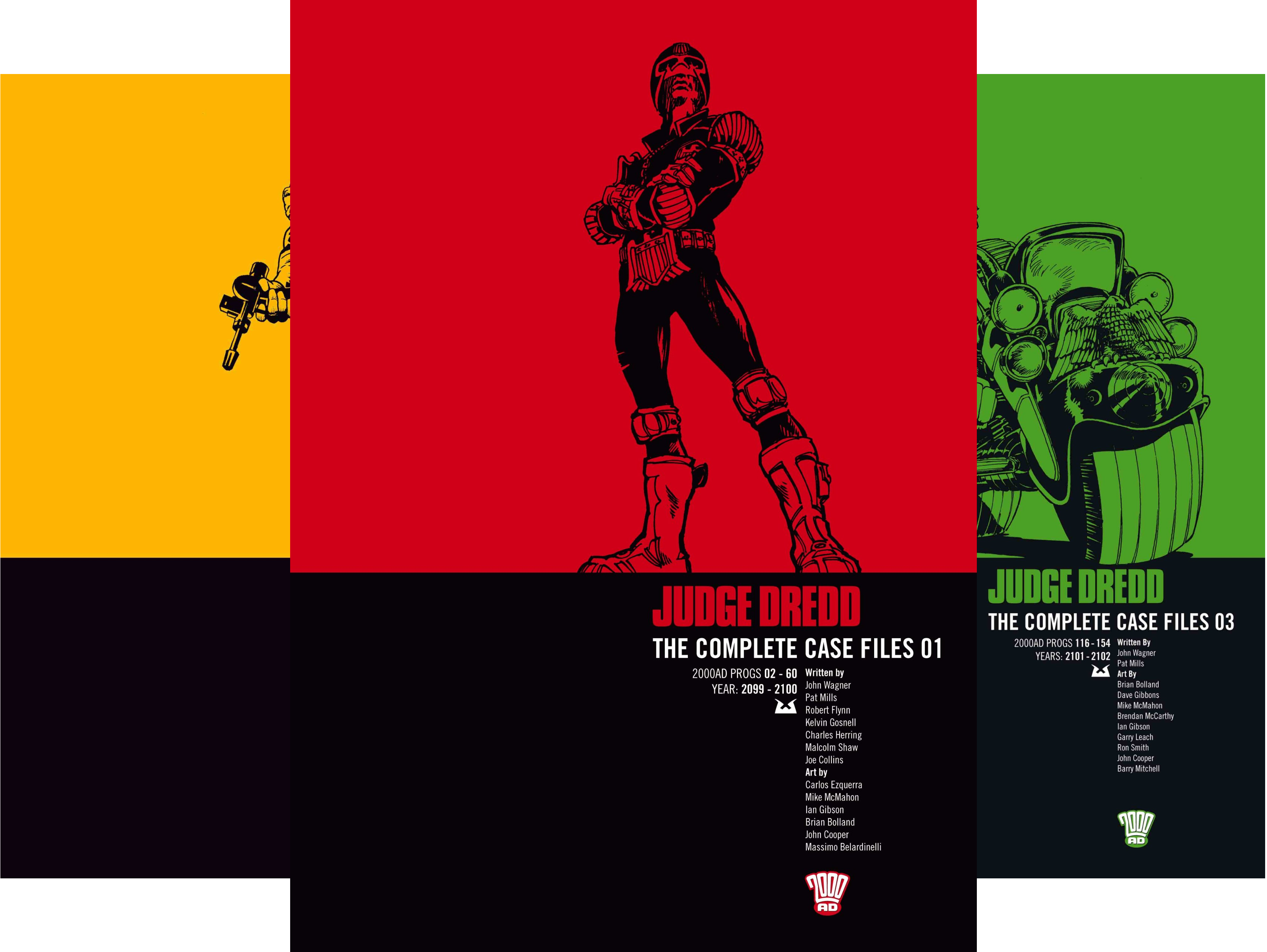 Judge Dredd The Complete Case Files (24 Book Series)