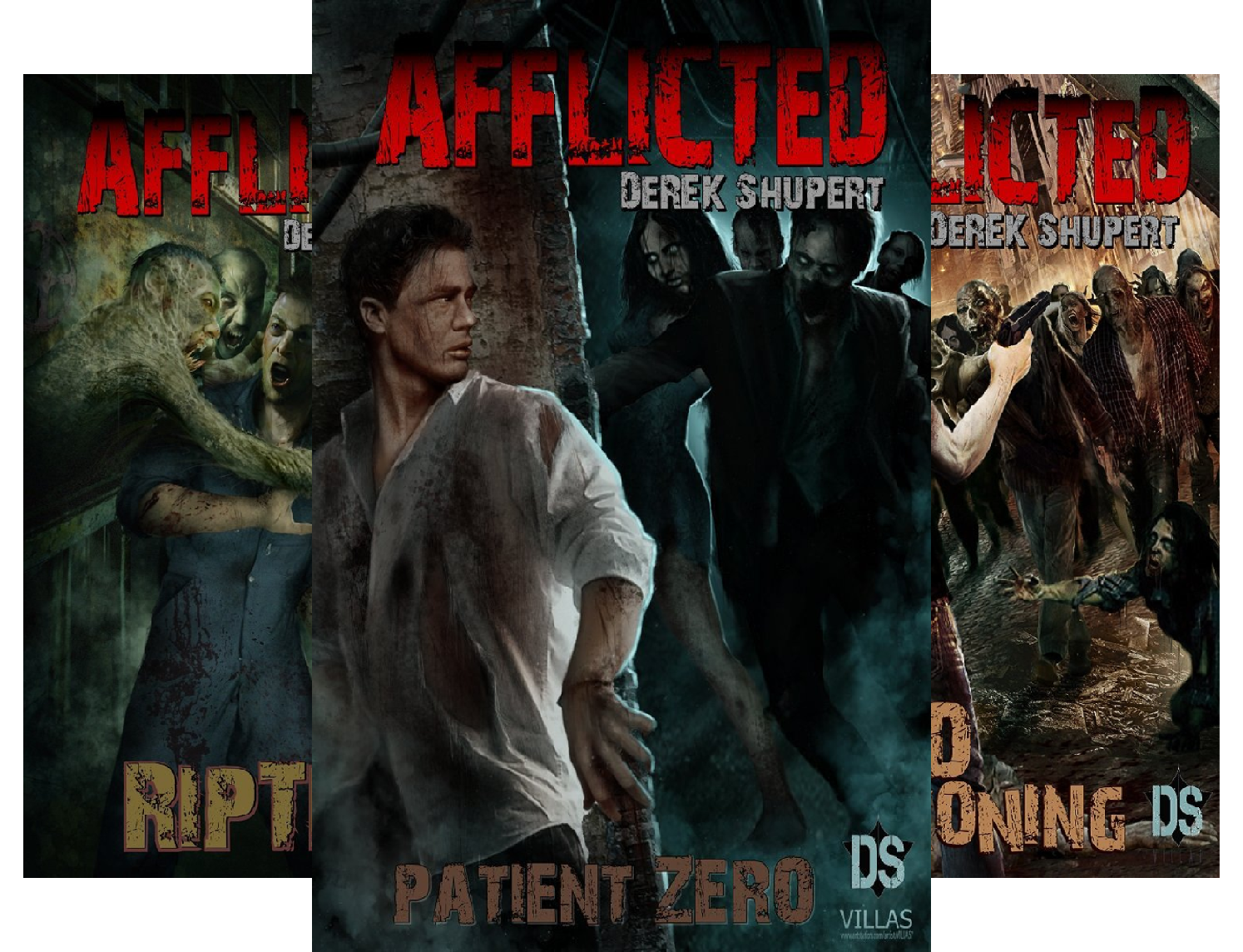 Download Afflicted (3 Book Series) B0722W13C7