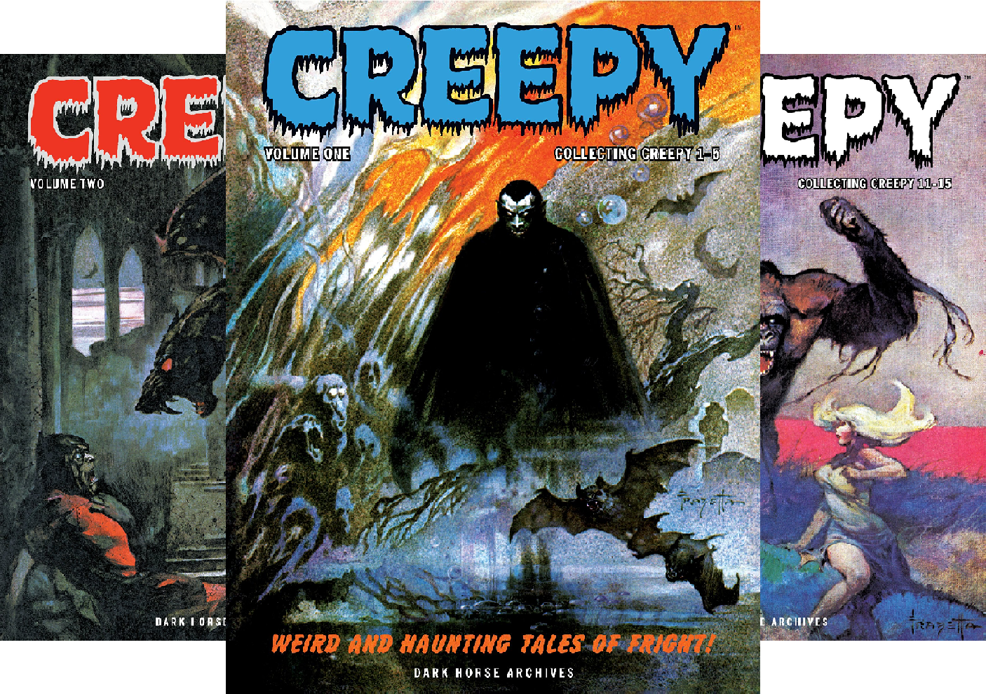 Creepy Archives (Collections) (25 Book Series)