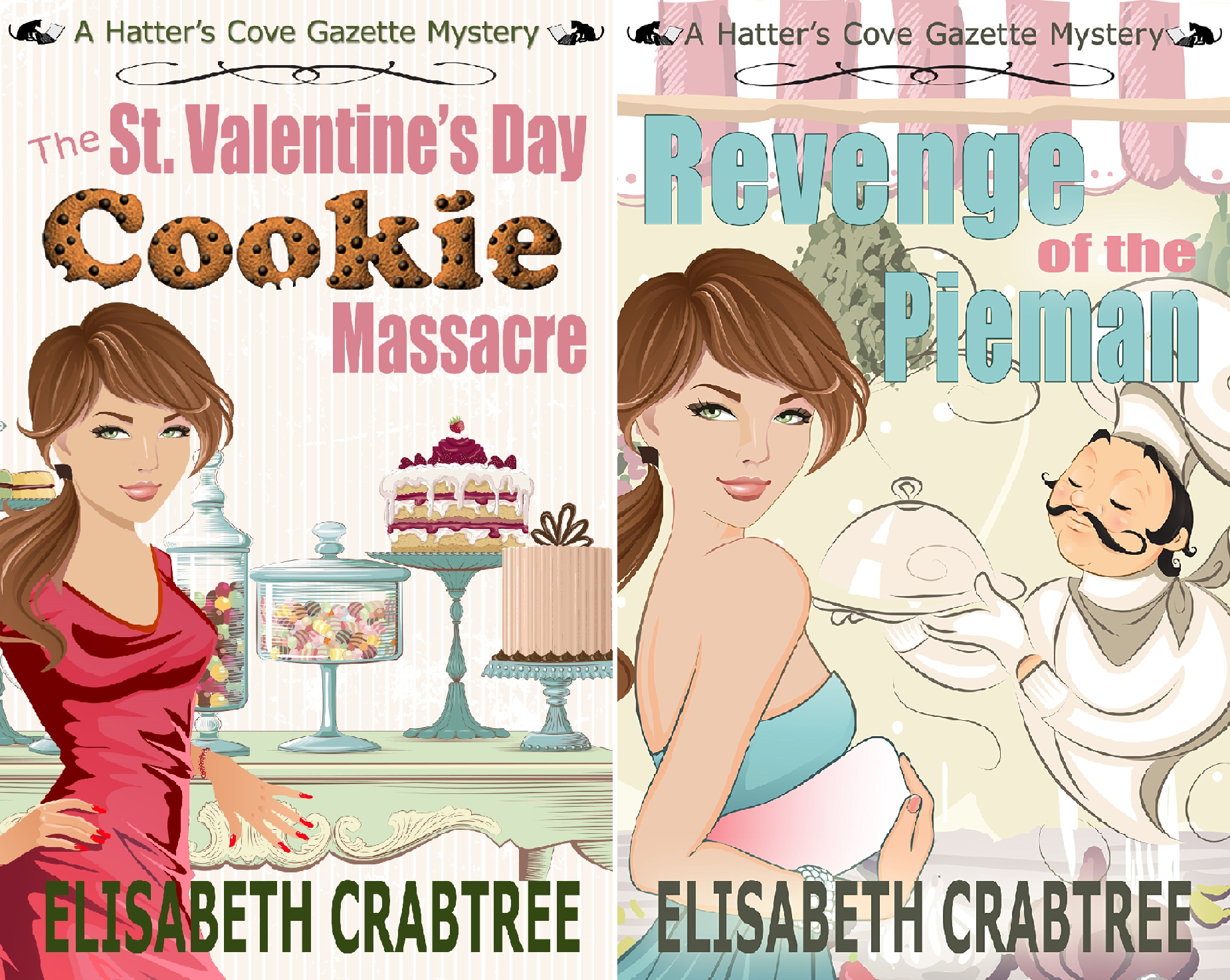 Download Hatter's Cove Mystery Series (2 Book Series) B01KXT9ERC