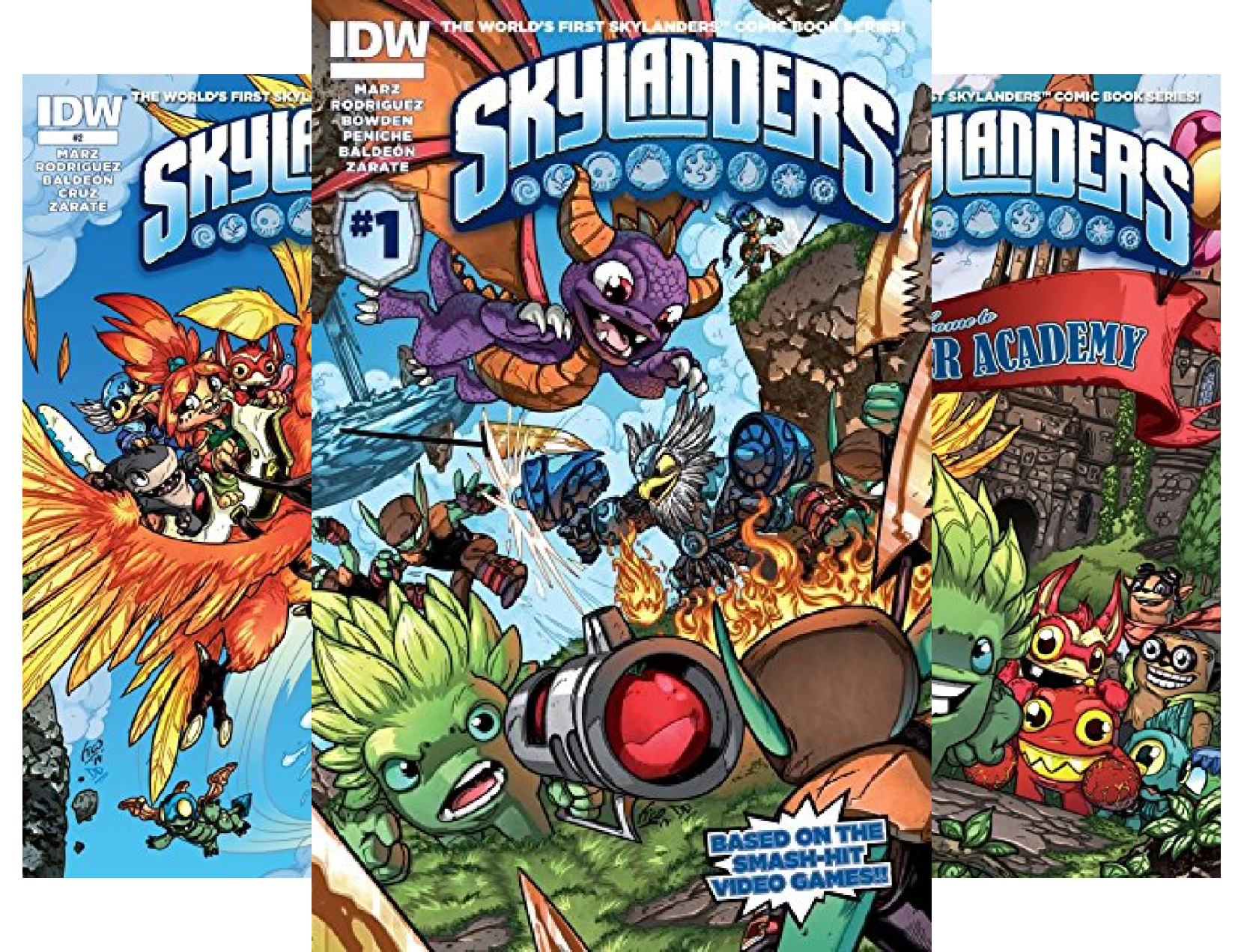Download Skylanders Graphic Novel (12 Book Series) B071L88QR9