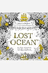 Lost Ocean: An Inky Adventure & Colouring Book Paperback