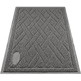 Pawkin Cat Litter Mat, Patented Design with Litter Lock Mesh, Extra Large, Durable, Easy to Clean, Soft, Fits Under Litter Bo