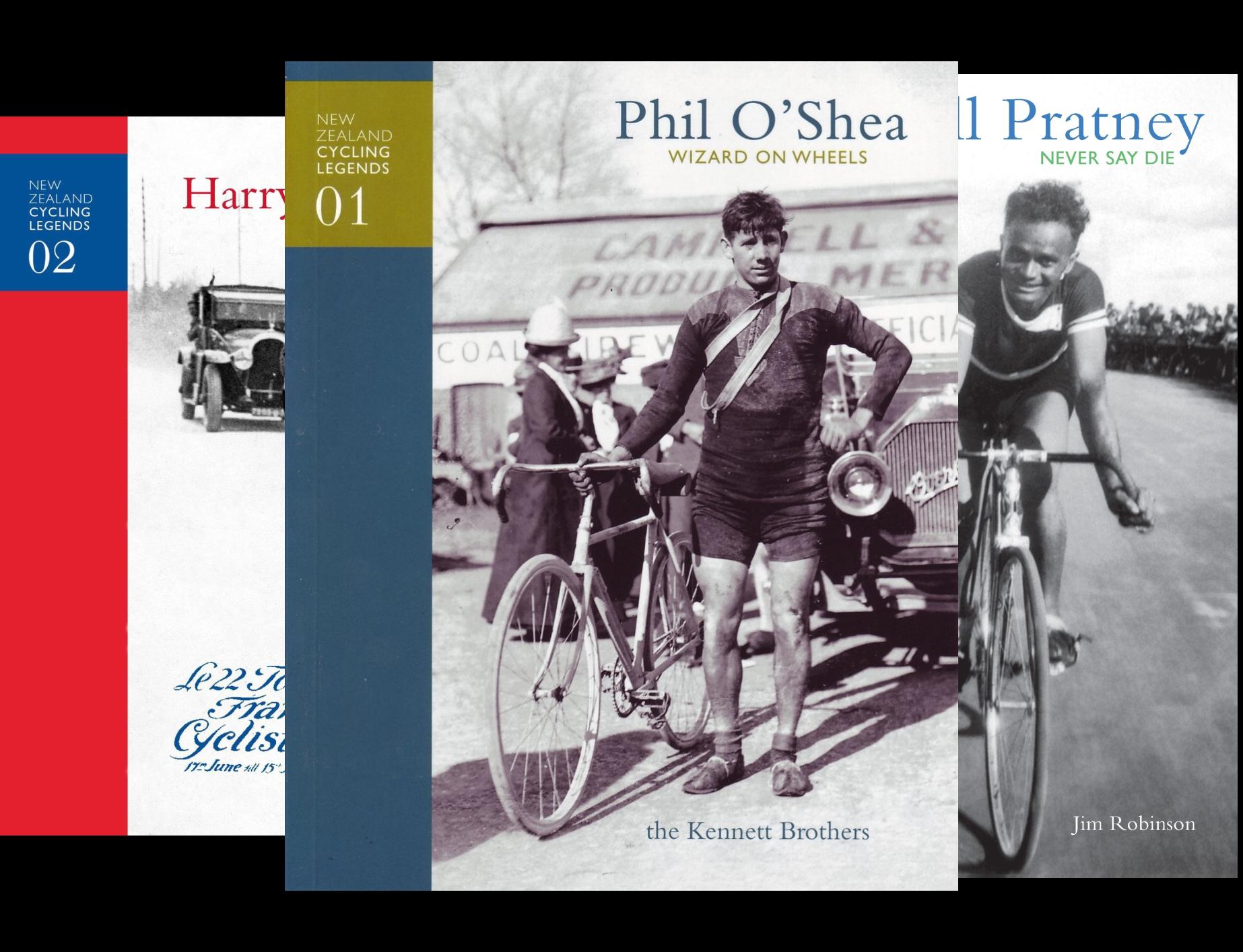 New Zealand Cycling Legends (4 Book Series)