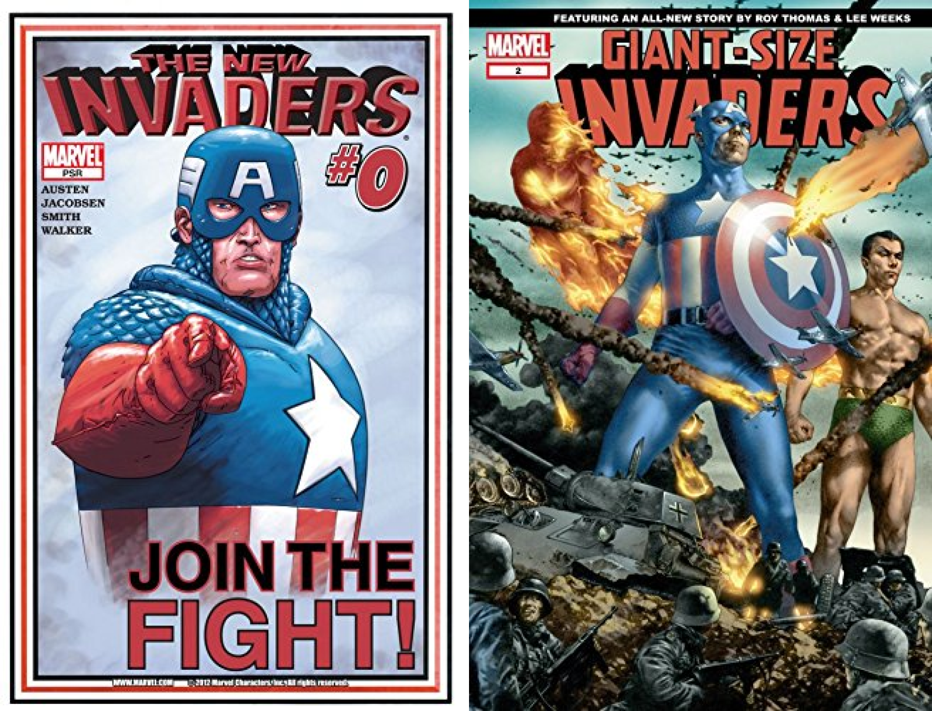 New Invaders (2004-2005) (Issues) (2 Book Series)