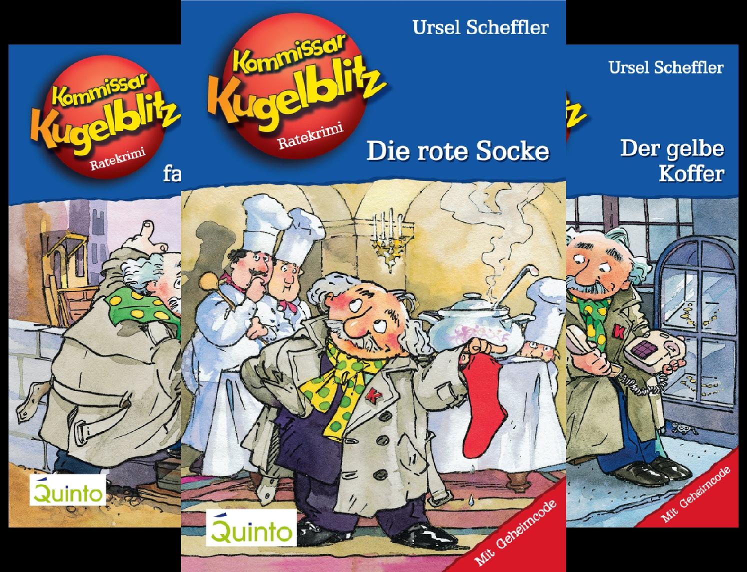Kommissar Kugelblitz (Reihe in 30 Bänden)