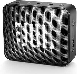 JBL GO2 Bluetoothスピーカー IPX7防水/ポータブル/パッシブラジエーター搭載 ブラック JBLGO2BLK 【国内正規品/メーカー1年保証付き】