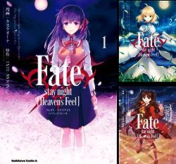 [まとめ買い] Fate/stay night [Heaven's Feel](角川コミックス・エース) 著者:  タスクオーナ