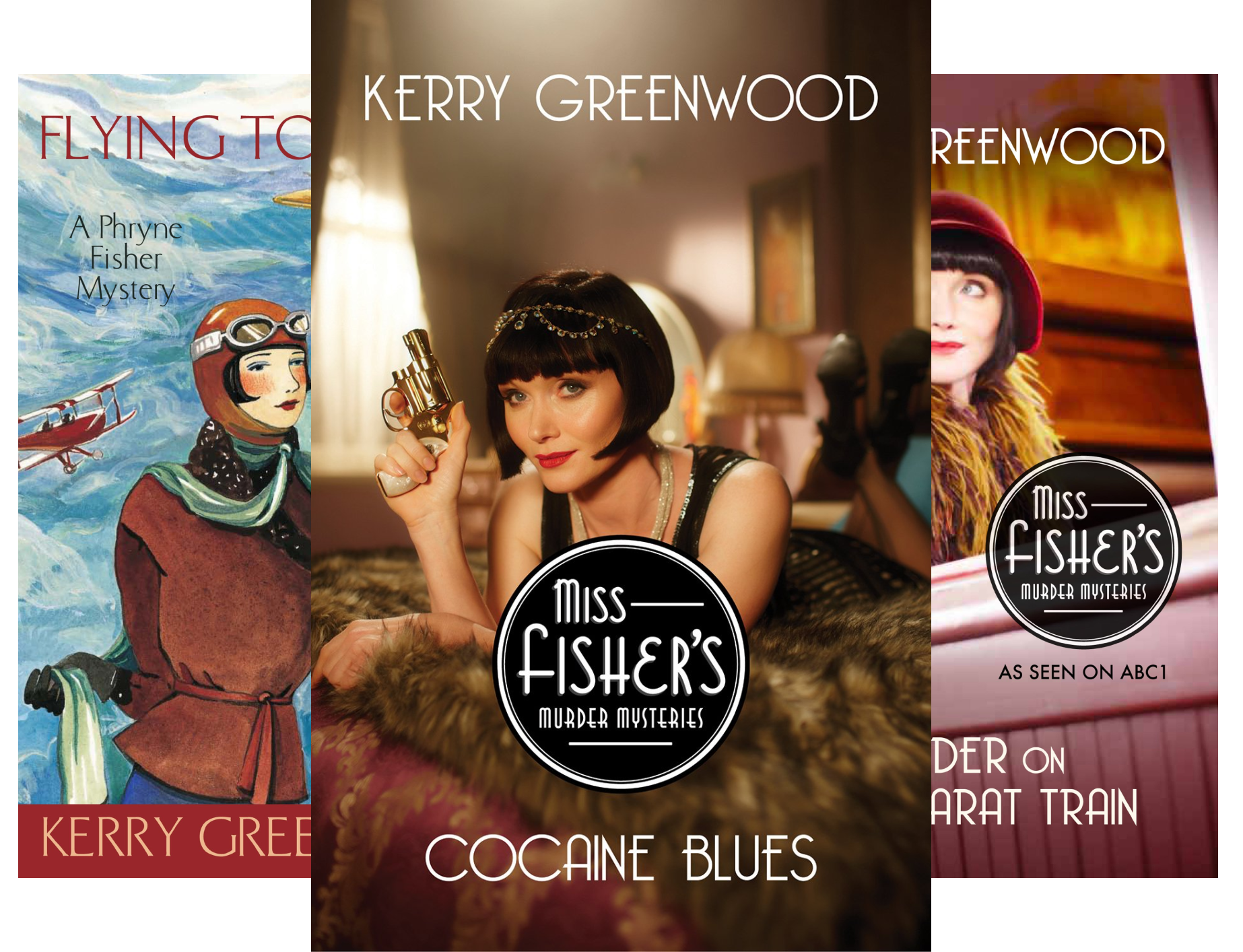 Phryne Fisher's Murder Mysteries (20 Book Series)