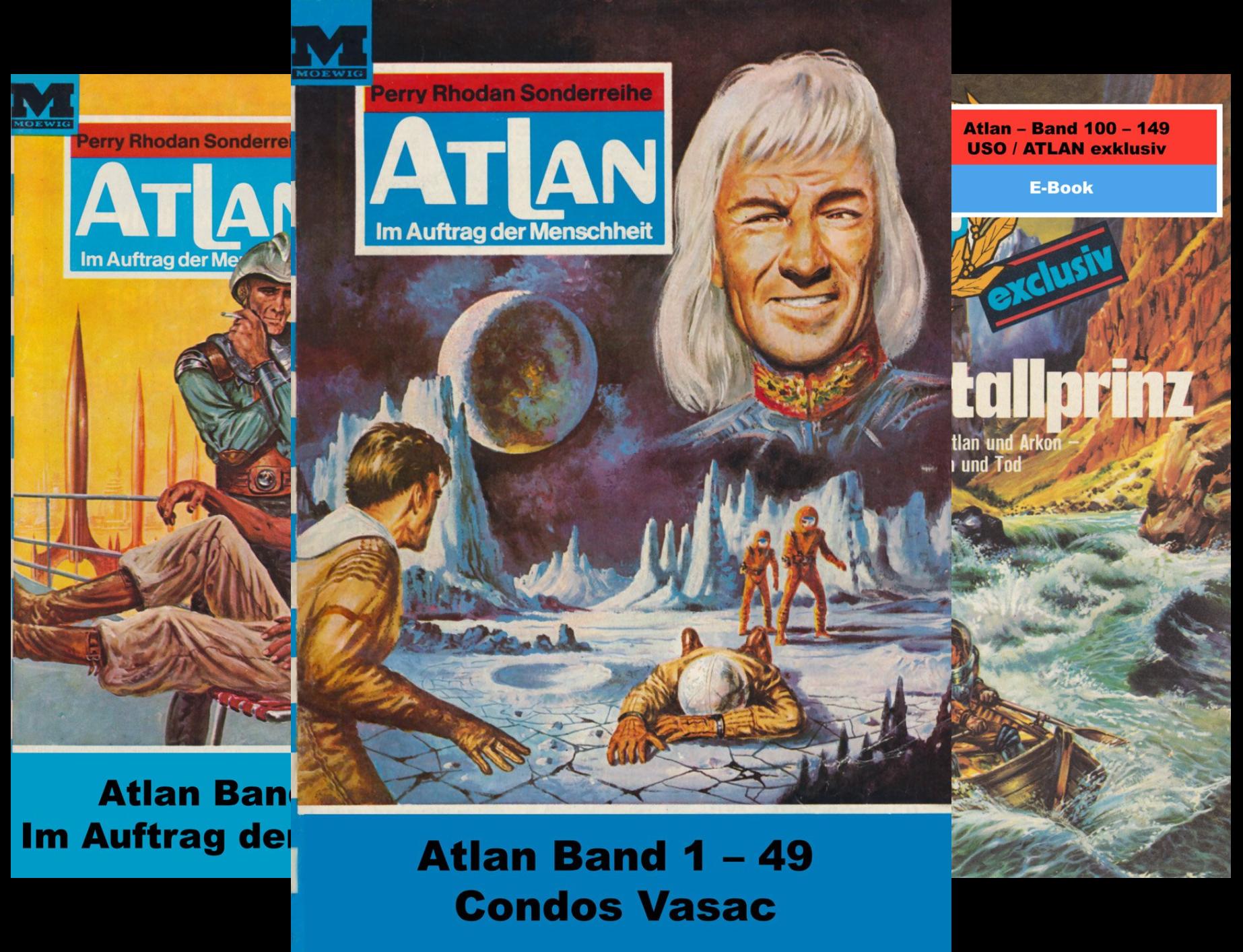 Atlan classics Paket (Reihe in 17 Bänden)