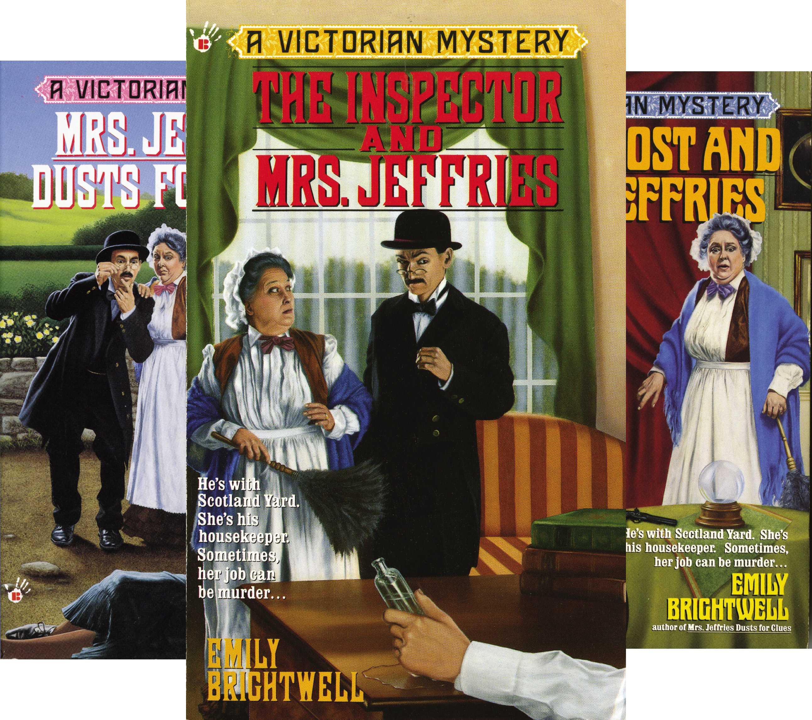 Mrs.Jeffries Mysteries (36 Book Series)