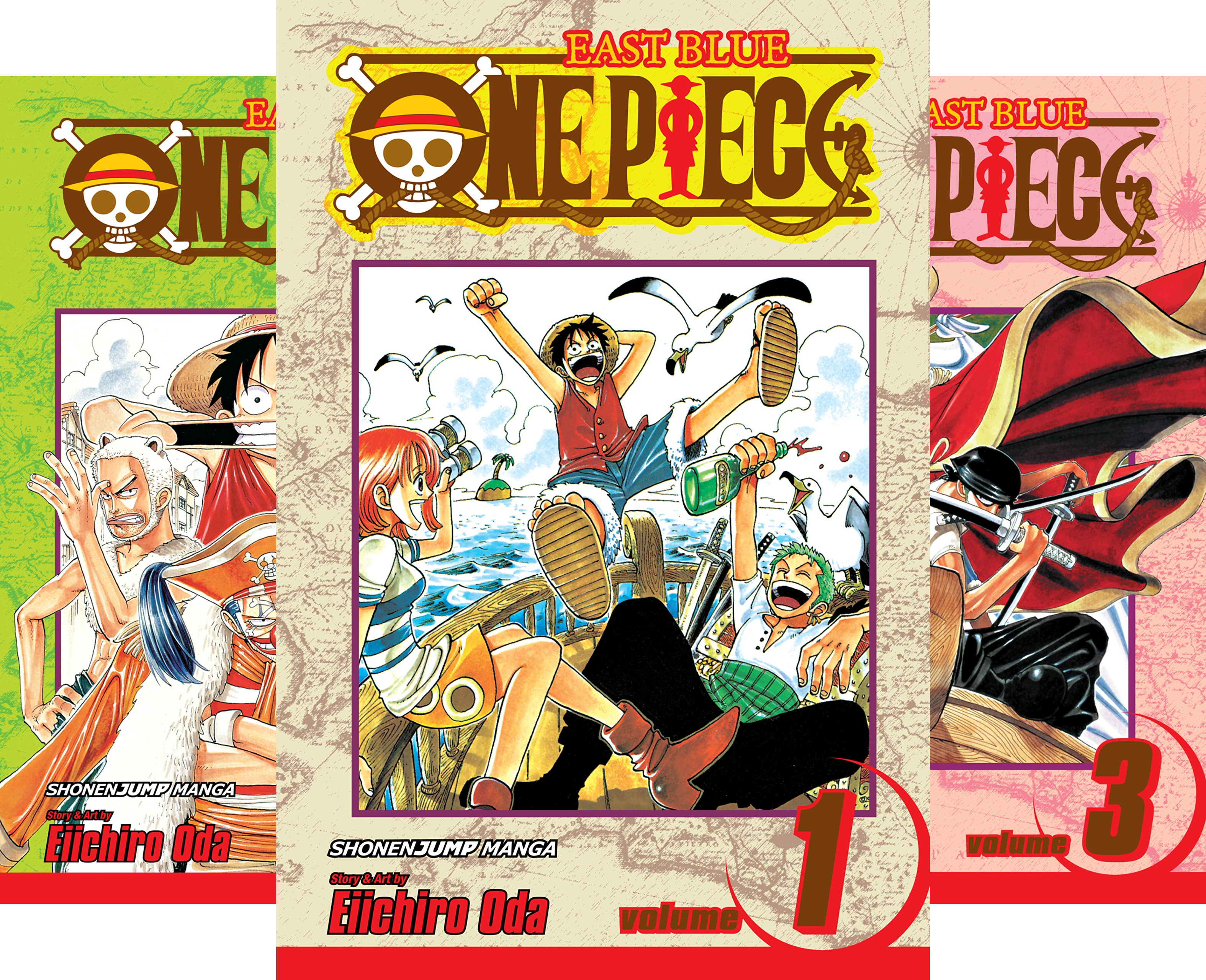 One Piece (Issues) (50 Book Series)