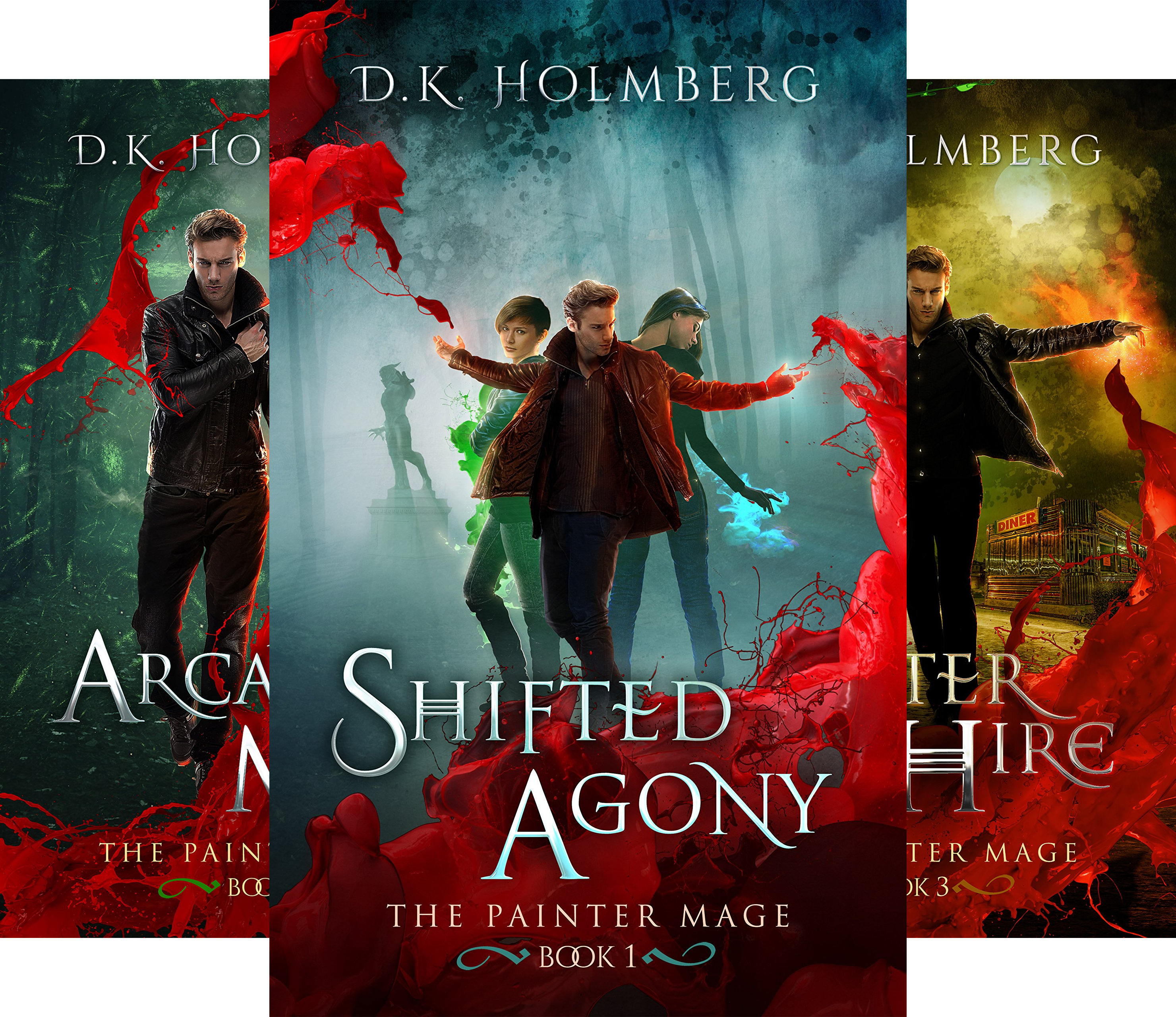 The Painter Mage (5 Book Series)