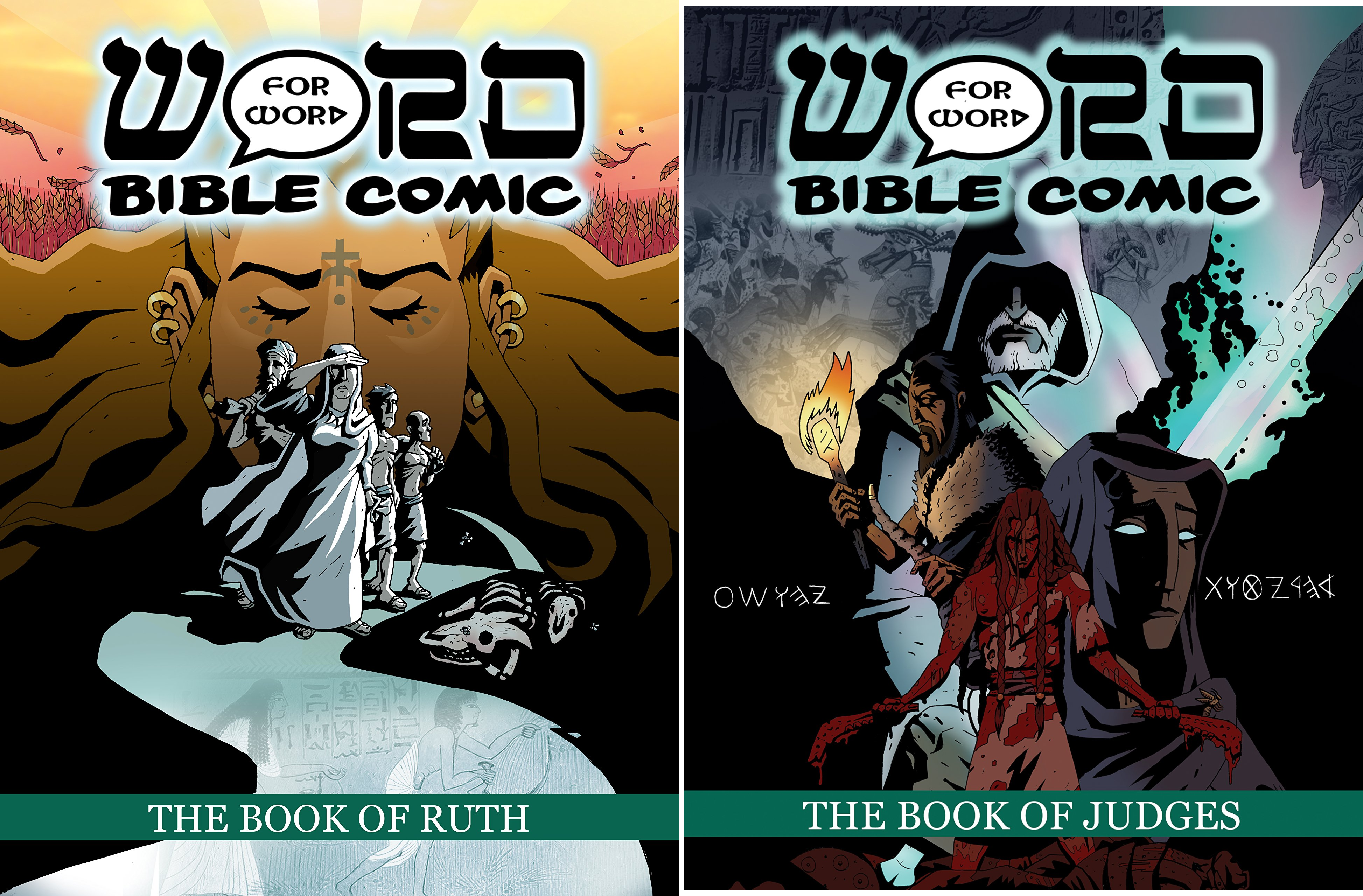 The Word for Word Bible Comic (Issues) (2 Book Series)