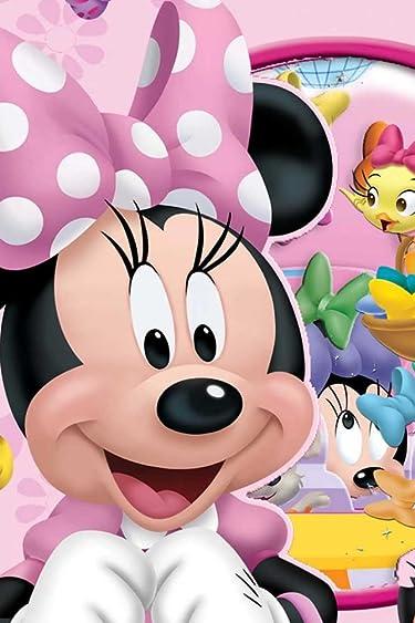 ディズニー  iPhone/Androidスマホ壁紙(640×960)-12 - Disney Minnie Mouse Flutter Bow Fun