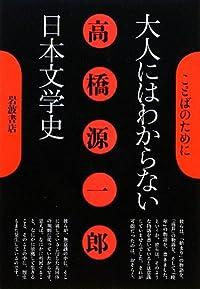 高橋源一郎『大人にはわからない日本文学史』の表紙画像