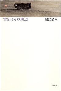 堀江敏幸『雪沼とその周辺』の表紙画像