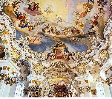 世界遺産  iPhone/Androidスマホ壁紙(1080×960)-1 - ヴィースの巡礼教会