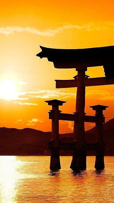 世界遺産  iPhone/Androidスマホ壁紙(640×1136)-1 - 厳島神社