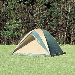 5~6人用、クロスポール型ドームテント