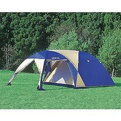 ツールームタイプ、5~6人用ドームテント
