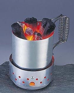 簡単に炭火がおこせる火おこし器