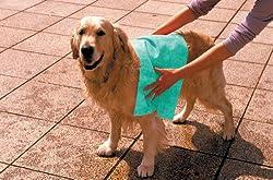 愛犬の胴回りを包みこめるスッポリサイズ