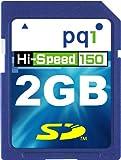 PQI SDカード 2GB 150倍速ハイスピード QSD15-2G 22.5MB/sec 永久保証