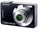 SONY デジタルカメラ サイバーショット DSC-W50 ブラック DSC-W50