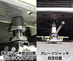 タイヤ交換が簡単に出来る使い方ガイド付き