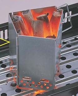 煙突効果で効率よく火が起こせる