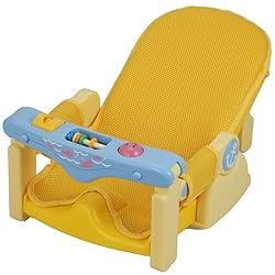 コンパクトにたためる赤ちゃん用バスチェアです。