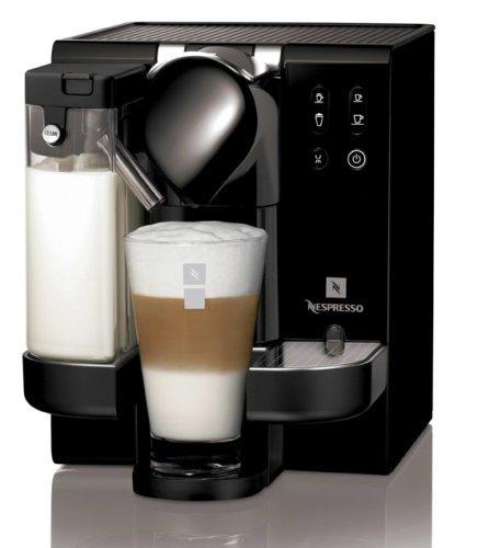 Nespresso Lattissima(ラティシマ) [お試し用カプセル、デミタスカップ&ソーサー、レシピグラス付き] クリーム F310CW