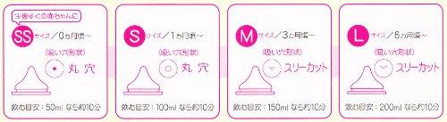 ピジョン 母乳実感哺乳瓶耐熱ガラス160ml