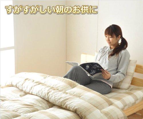 市川(ICHIKAWA) 組布団3点セット 【シングル】(敷布団、掛け布団、枕) ベージュ 2883BE