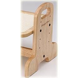 テーブルの高さは4段階で調節できます。