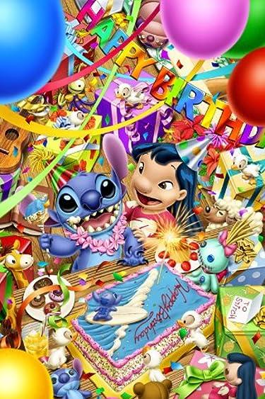 ディズニー  iPhone/Androidスマホ壁紙(640×960)-13 - スティッチのバースデイ パーティー!