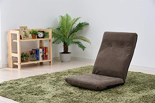 山善(YAMAZEN) ハイバック座椅子 カプチーノブラウンHZ-46(BR)