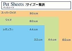 シートサイズは3種類!
