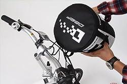 5秒で着脱可能な自転車用フロントバッグ