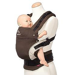 赤ちゃんの脚をM字にサポート