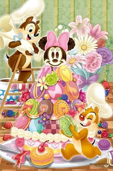 ディズニー  iPhone/Androidスマホ壁紙(640×960)-13 - チップとデールのデリシャス・マカロンツリー