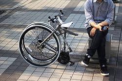 既成概念を覆す、独自開発の折りたためるクロスバイク